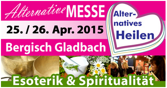 25. + 26. April: Messe Alternatives Heilen in  Bergisch Gladbach