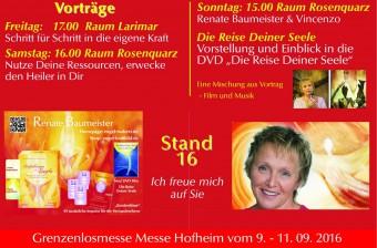 3. Grenzenlos-Messe in Hofheim a. Ts.