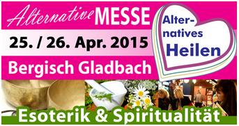 25. + 26. April: Messe Alternatives Heilen in  Bergisch Gladbach