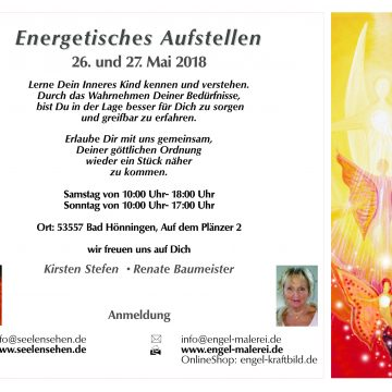 Energetisches Aufstellen – 26. & 27. Mai 2018