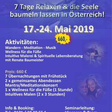 Love-Joy & Healing Retreat in Ebensee Östereich